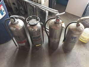 Classic fire extinguishers
