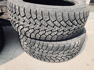 215/55/r17 winter tire.used tire.