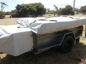 Camper Trailer with full Annexe Cape Jervis Yankalilla Area Preview