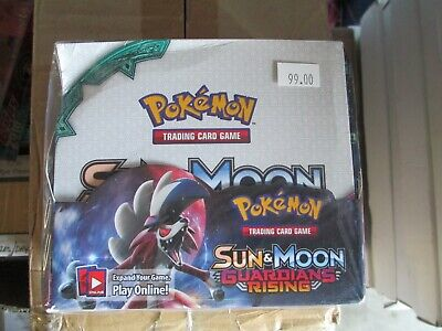Pokemon Sun &Moon Guardians Rising Booster Box Unopened brand new Knock Off Fake