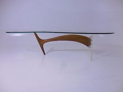 Vintage Biomorphic Omnibus Coffee Table Mid Century/Danish Modern Kagan Era