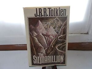 The-Silmarillion-by-J-R-R-Tolkien-First-American-Edition-Hardcover-Book