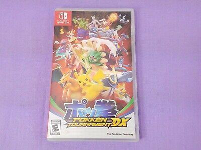 Nintendo Switch Pokemon Tournament DX Video Game