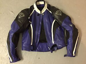 Men's Rhyno leather motorcycle jacket
