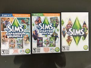 Sims 3 and Additional Bundles