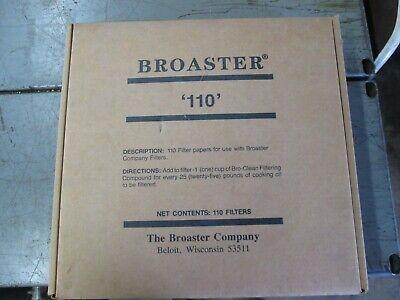 Broaster 110 Paper Filters
