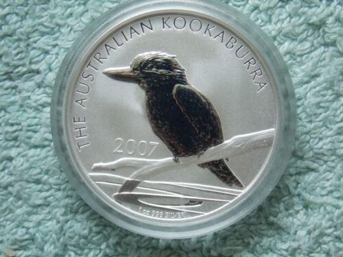 2007 AUSTRALIAN SILVER KOOKABURRA BU 1 oz