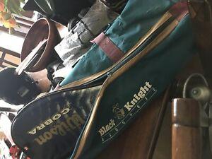 Squash players? Racket and bag