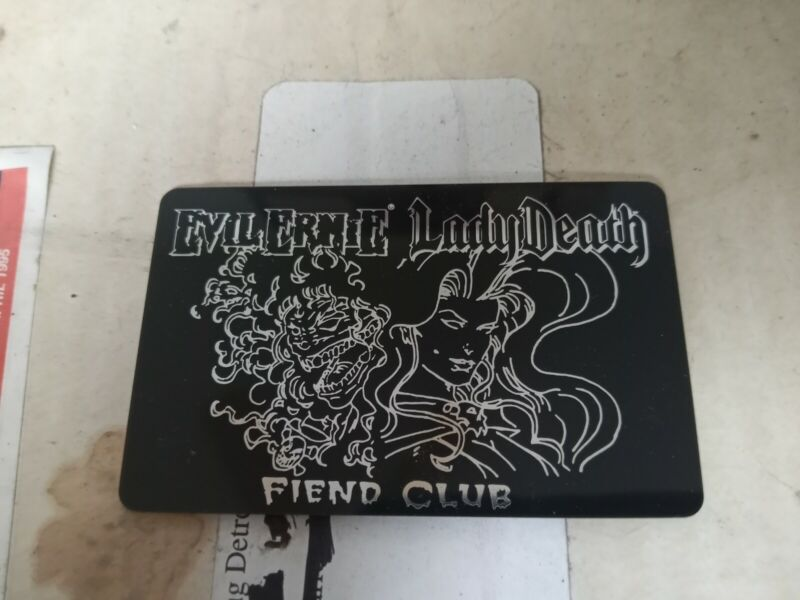 Evil Ernie/Lady Death Fiend Club Collection Extremely Rare 1994