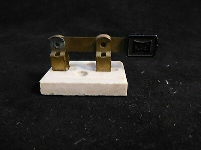 Vintage Leviton Porcelain Copper Toggle On Off Switch Nice Steampunk