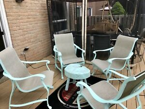 Gone today! Luxury conversation patio set