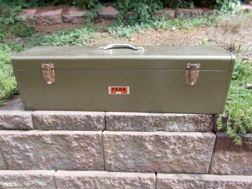 "VINTAGE PARK 84449 Carpenters TOOL BOX w/Tray -32"" x 9 1/4"" x 8 1/4"""