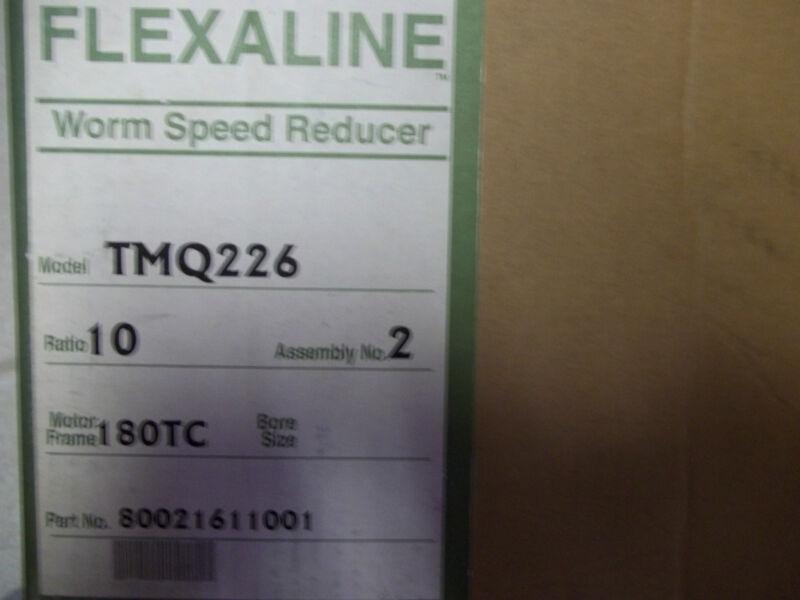 NEW GROVE GEAR FLEXALINE TMQ226-2 WORM GEAR SPEED REDUCER RATIO 10:1