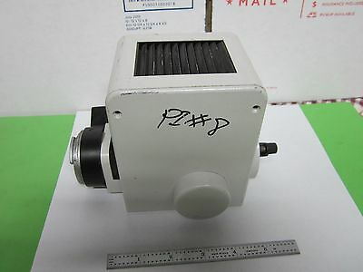 Microscope Illuminator Lamp Housing Orthoplan Leitz Wetzlar Germany Bin47 Iv