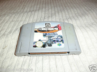 F1 World Grand Prix (Nintendo 64 / N64) nur Spielmodul, PAL-Version