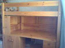 Bunkers Super Space Saver Desk Loft Bed Viewbank Banyule Area Preview