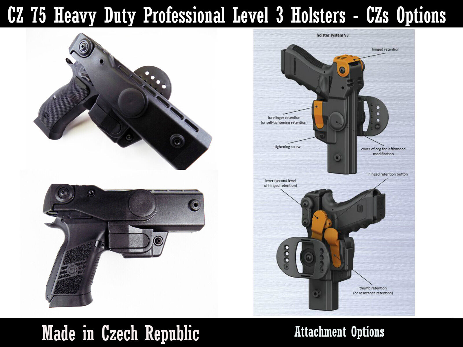 cz 75 compact and full size heavy