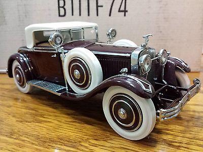 Franklin Mint Hispano Suiza 1925 HB6 Kellner 1:24 Scale Diecast B11TF74  A35