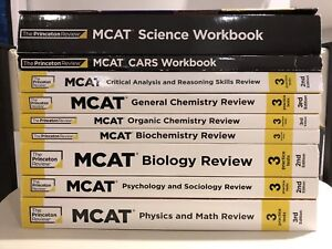 Princeton Review MCAT Complete Set