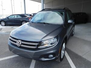 2016 Volkswagen Tiguan Highline, AWD, A/C,MAGS,CUIR, TOIT, CAMER
