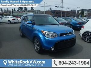 2016 Kia Soul SX Luxury Heated Front & Rear Seats, Power Moon...