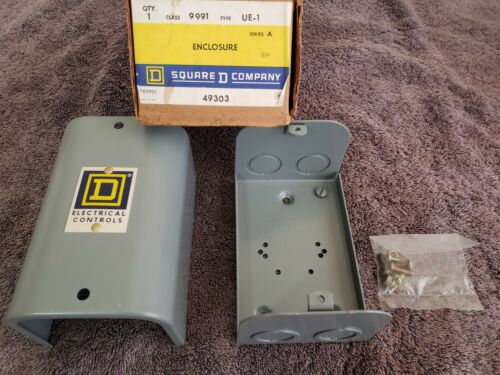 New old Stock Square D 49303 UE-1 Class 9991 Series A Enclosure Electrical