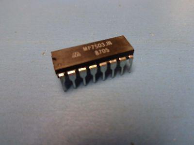 MM5651BN 28 PIECE LOT Analog Multiplexer Single 8:1 16-Pin PDIP CD4051BCN