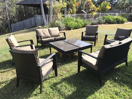 Outdoor Wicker Lounge Set Part 78