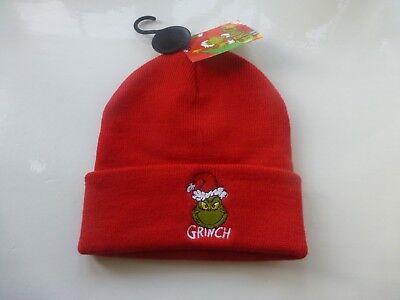 s BEANIE HAT Mens Ladies Womens Primark Xmas Beany Dr Seuss (Grinch Hat)