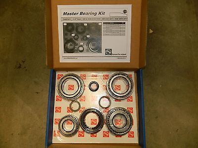 Rear Axle Differential Bearing - REAR DIFFERENTIAL BEARING KIT SEAL Chevy GMC 2500 3500 11.5 AAM AXLE 1999-2011