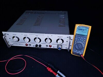 Honeywell Regulated Precision High Voltage Power Supply 0 - 6kv 20ma - Tested