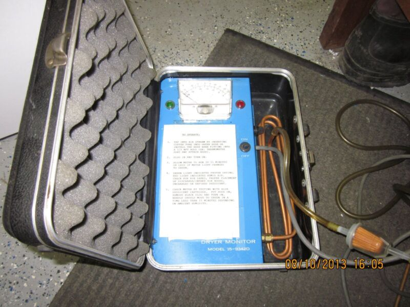 Portable Dew Point Monitor Model# 15-9342D