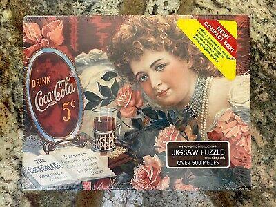 COCA-COLA SENTIMENTAL SWEETHEART Jigsaw Puzzle 500 piece 4180 Springbok 1985