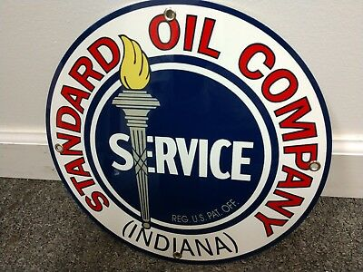 Standard Gas Oil gasoline sign ... free ship on any 10 signs (On Sign)