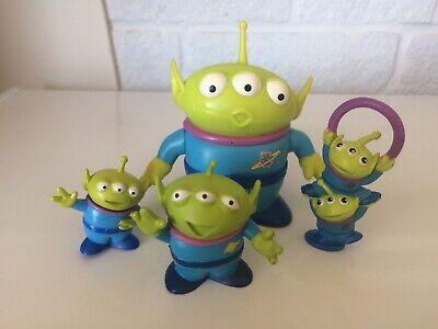Disneys Toy Story Figures Aliens X 4