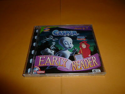 NEW Casper: Animated Early Reader PC MAC kids learn to read friendly ghost game