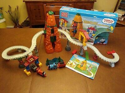 THOMAS & Friends Adventures on Misty Island Train Set Mega Bloks #10521 COMPLETE