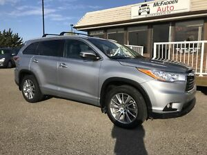 2015 Toyota Highlander XLE ACCIDENT FREE LOCAL TRADE