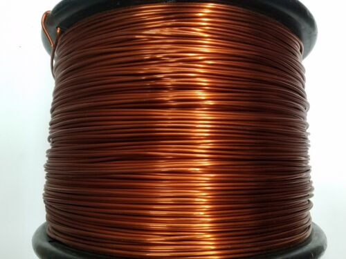 "Essex Magnet Wire, 10 AWG Gauge, 0.1054"" 1 LB, Enameled Copper Coil Winding"