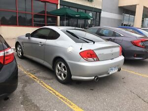 PENDING SOLD WITH DEPOSIT: 2005 Hyundai Tibourne SE Coupe