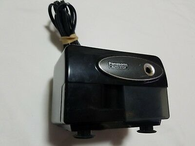 Panasonic Kp-310 Electric Pencil Sharpener With Auto-stop Suction Cup Base