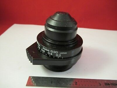 Nikon Japan Eclipse E400 Condenser Abbe Diaphragm Microscope Part Optics Ft-2-4