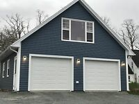 24 x 24 garages or Bigger