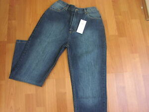 GENEROUS FITTING BOYS JEANS - FROM AGE 9 UPTO 42