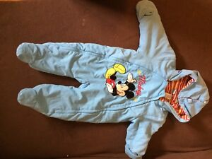 Mickey Mouse snowsuit - 3 months