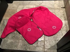 bugaboo cameleon hot pink changable stroller cover