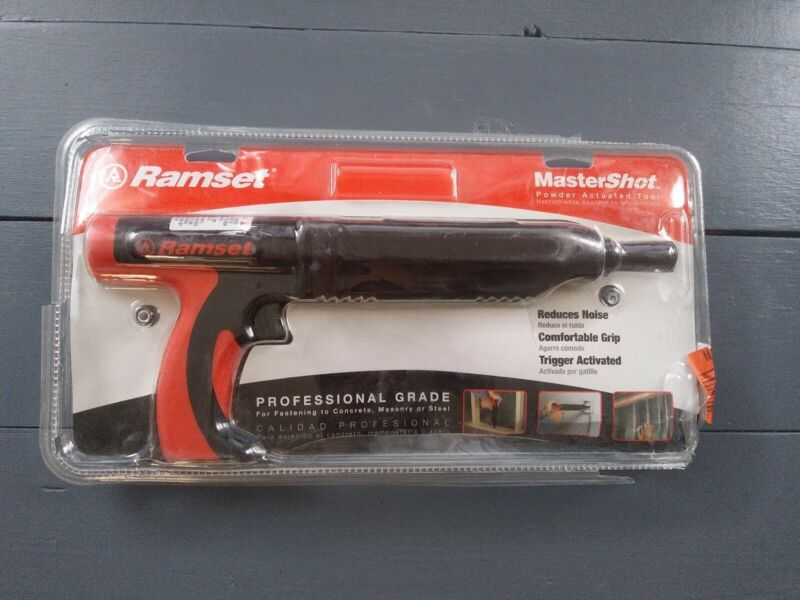 Ramset MasterShot 0.22 Caliber Powder Actuated Tool Opened Package MINT CONDITIO