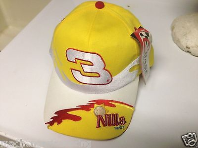 03a1241f02c VINTAGE DALE EARNHARDT JR NILLA WAFERS 2003 PIT HAT CAP NWT CHASE RARE  NASCAR