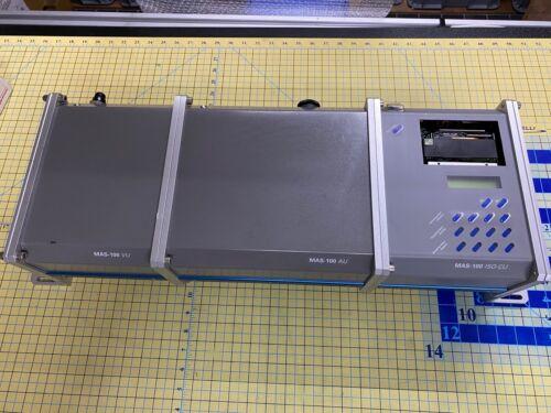 Millipore MAS-100 ISO-CU air sampler system With MAS-100 AU and MAS-100 VU