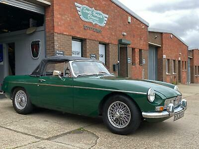 1966 MGB Roadster MK1, Heritage shell, current owner 31 years